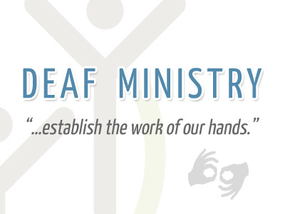 Deaf Ministry at The Grove