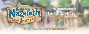 VBS 2015 Information & Interest Meeting @ The Grove Church | Greenbrier | Tennessee | United States